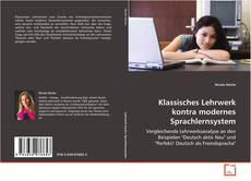 Bookcover of Klassisches Lehrwerk kontra modernes Sprachlernsystem