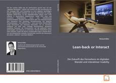 Capa do livro de Lean-back or Interact