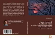 Macronutrient Intake and Sleep kitap kapağı
