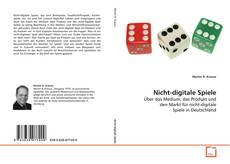 Capa do livro de Nicht-digitale Spiele