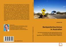 Bookcover of Backpackertourismus in Australien