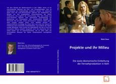 Buchcover von Projekte und ihr Milieu