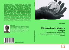 Bookcover of Microlending in Western Europe
