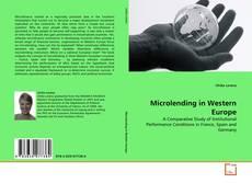 Copertina di Microlending in Western Europe