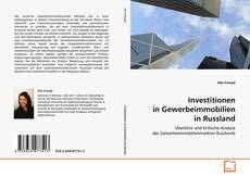 Bookcover of Investitionen in Gewerbeimmobilien in Russland