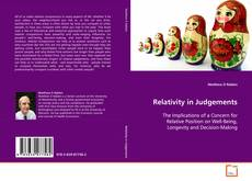 Bookcover of Relativity in Judgements