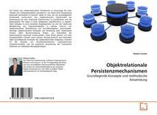 Objektrelationale Persistenzmechanismen kitap kapağı