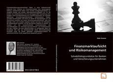 Bookcover of Finanzmarktaufsicht und Risikomanagement
