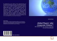 Buchcover von 'Global Players' oder 'Corporate Citizens'?