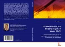 Portada del libro de Die Performance von Börsengängen am Neuen Markt