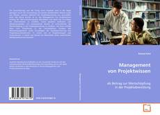 Buchcover von Management von Projektwissen