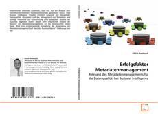 Bookcover of Erfolgsfaktor Metadatenmanagement