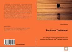 Copertina di Fontanes Testament