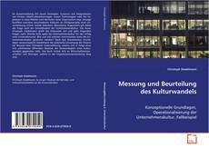 Borítókép a  Messung und Beurteilung des Kulturwandels - hoz