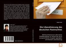 Die Liberalisierung des deutschen Postmarktes的封面