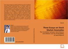 Обложка Three Essays on Stock Market Anomalies