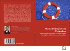 Buchcover von Themenmanagement für Marken