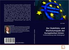 Portada del libro de Der Stabilitäts- und Wachstumspakt der Europäischen Union: