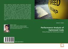 Bookcover of Performance Analysis of Optimized Code