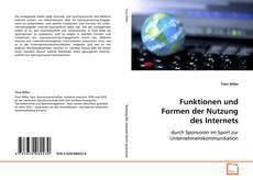 Borítókép a  Funktionen und Formen der Nutzung des Internets - hoz