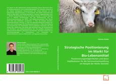Capa do livro de Strategische Positionierung im Markt für Bio-Lebensmittel