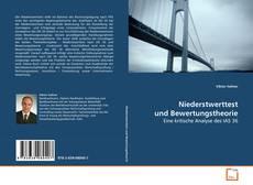 Bookcover of Niederstwerttest und Bewertungstheorie