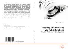 Steuerung und Kontrolle von Public Relations的封面
