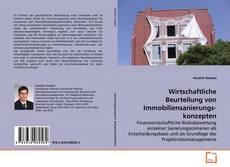 Portada del libro de Wirtschaftliche Beurteilung von Immobiliensanierungskonzepten