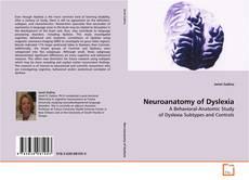 Capa do livro de Neuroanatomy of Dyslexia