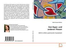 Portada del libro de Von Hypo- und anderen Thesen