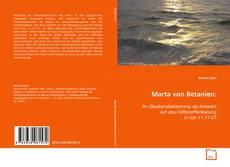 Buchcover von Marta von Betanien: