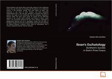 Bookcover of Ibsen's Eschatology