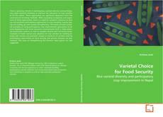 Buchcover von Varietal Choice for Food Security