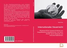 Обложка Internationales Steuerrecht