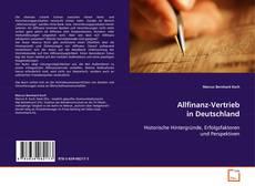 Bookcover of Allfinanz-Vertrieb in Deutschland