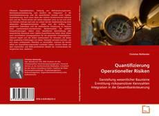 Portada del libro de Quantifizierung Operationeller Risiken