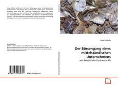 Capa do livro de Der Börsengang eines mittelständischen Unternehmens