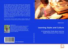 Обложка Learning Styles and Culture