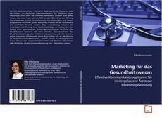 Buchcover von Marketing für das Gesundheitswesen