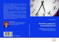 Workflow-geeignete Geschäftsprozesse kitap kapağı