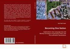 Buchcover von Becoming One Nation