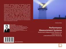 Bookcover of Performance Measurement Systeme