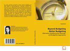 Bookcover of Beyond Budgeting - Better Budgeting