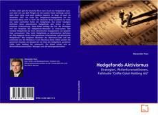 Capa do livro de Hedgefonds-Aktivismus