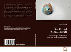 Portada del libro de Konflikt und Weltgesellschaft