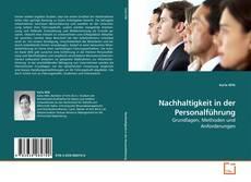 Nachhaltigkeit in der Personalführung kitap kapağı