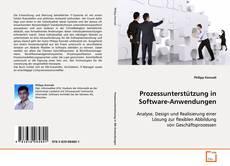 Capa do livro de Prozessunterstützung in Software-Anwendungen