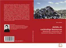 Buchcover von Abfälle als nachhaltige Ressourcen