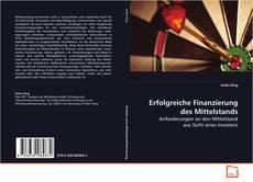 Couverture de Erfolgreiche Finanzierung des Mittelstands