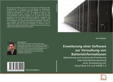 Buchcover von Erweiterung einer Software zur Verwaltung von Batterieinformationen